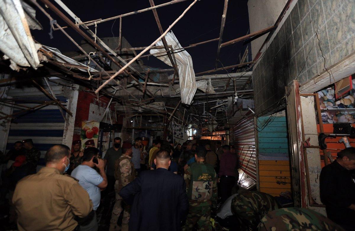 Irak ta halk pazarında patlama #8