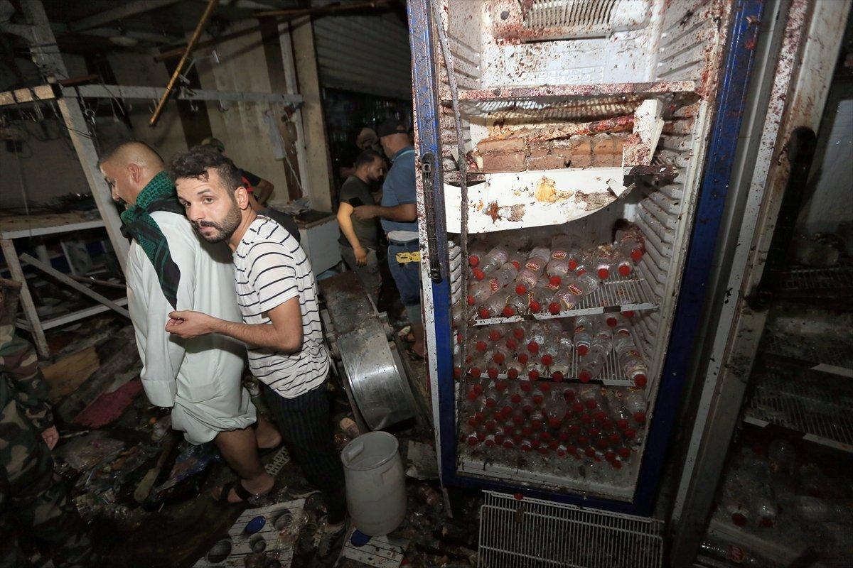 Irak ta halk pazarında patlama #2
