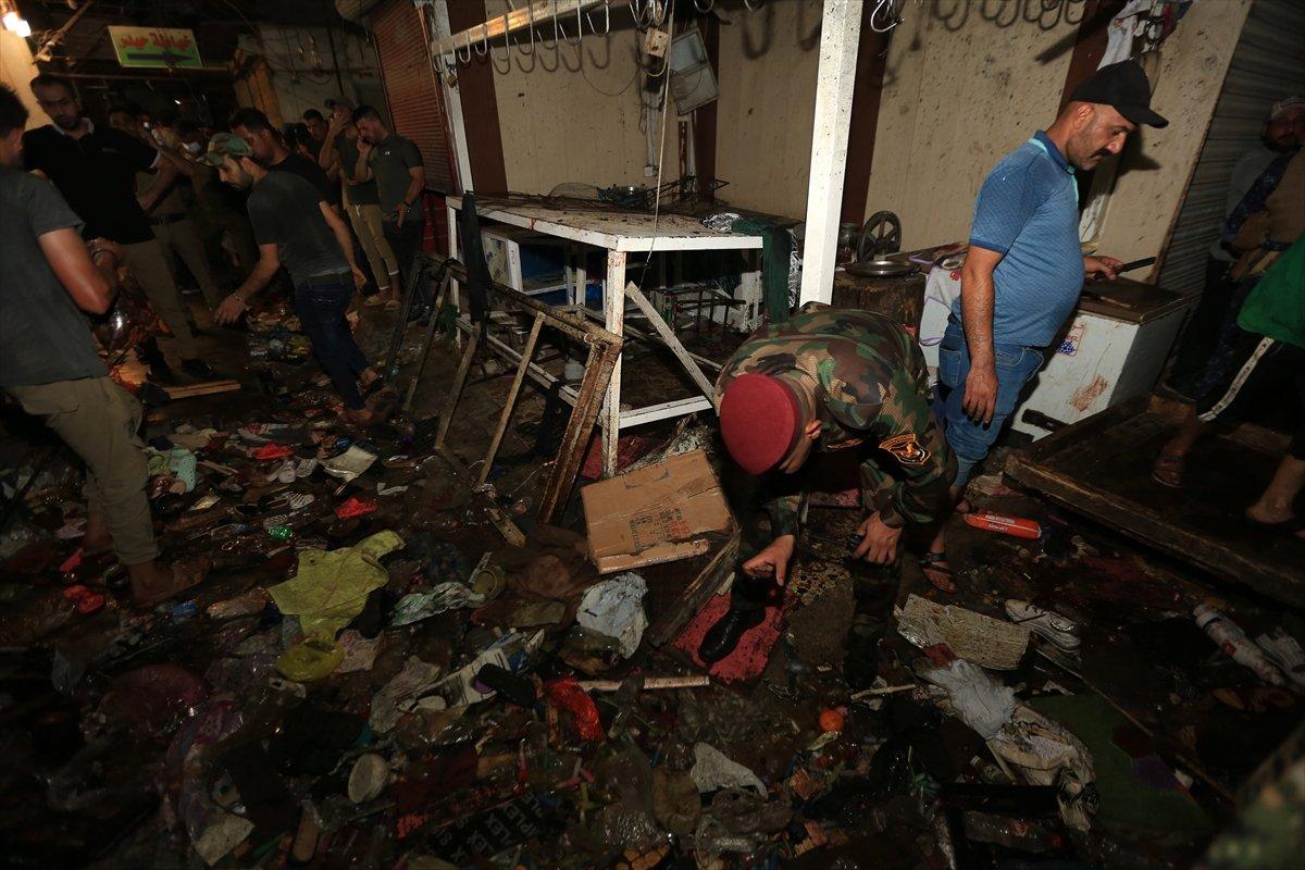 Irak ta halk pazarında patlama #5