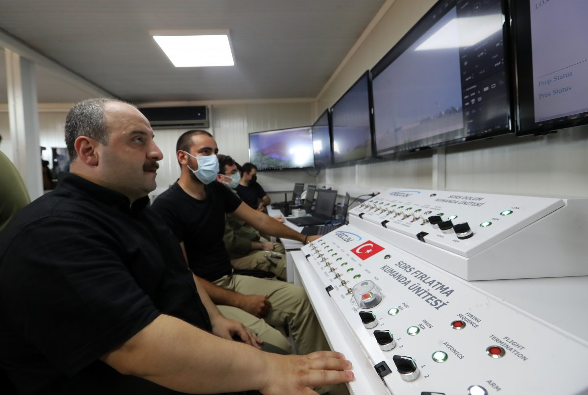 Ay a gönderilecek SORS un testleri, başarıyla tamamlandı #8