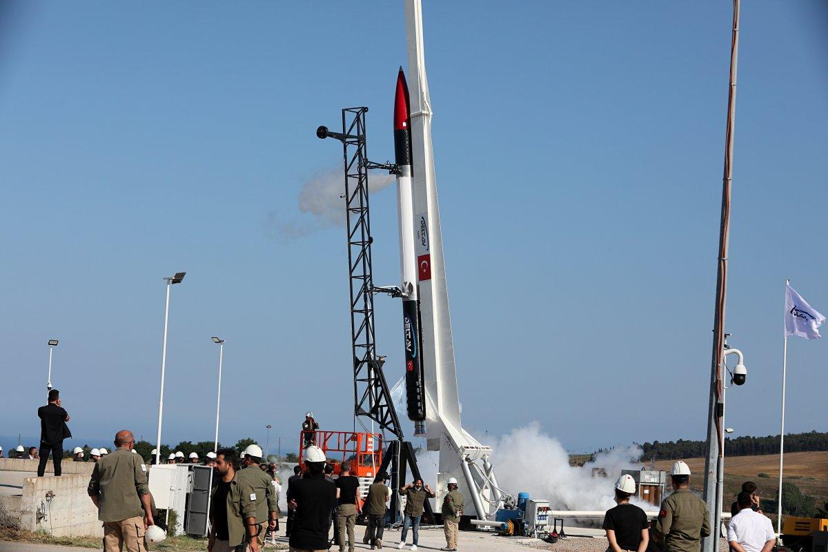 Ay a gönderilecek SORS un testleri, başarıyla tamamlandı #11
