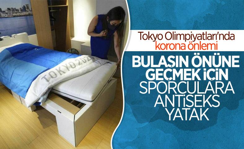 Tokyo Olimpiyatları'nda korona önlemi: Karton yatak