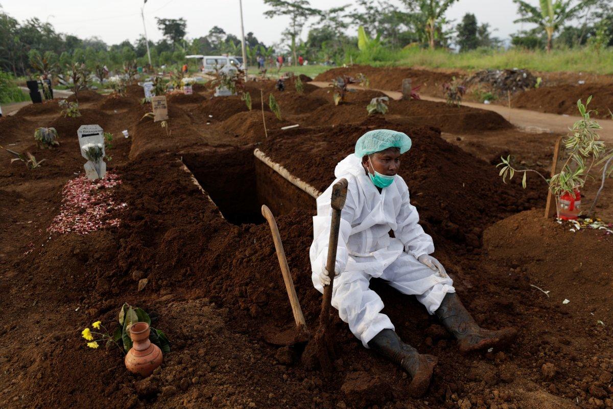 Salgının yeni merkezi Endonezya oldu #2