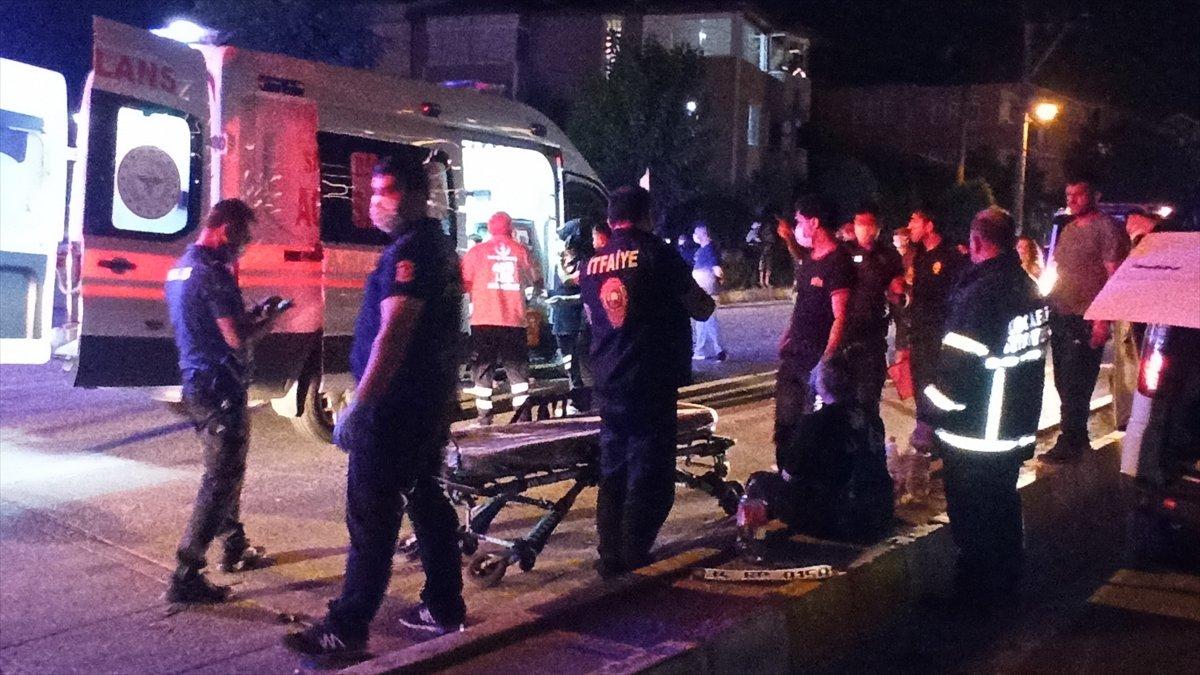 Kocaeli nde kaza: 4 ü çocuk 10 yaralı #2