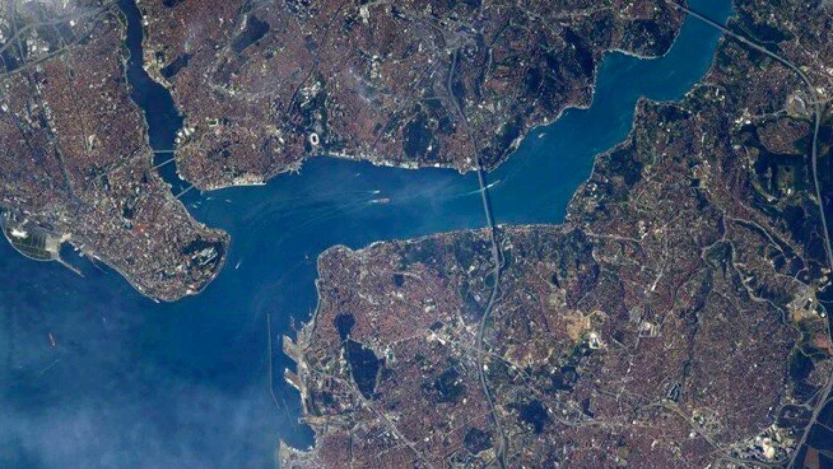 ABDli astronotun Türkiye paylaşımı
