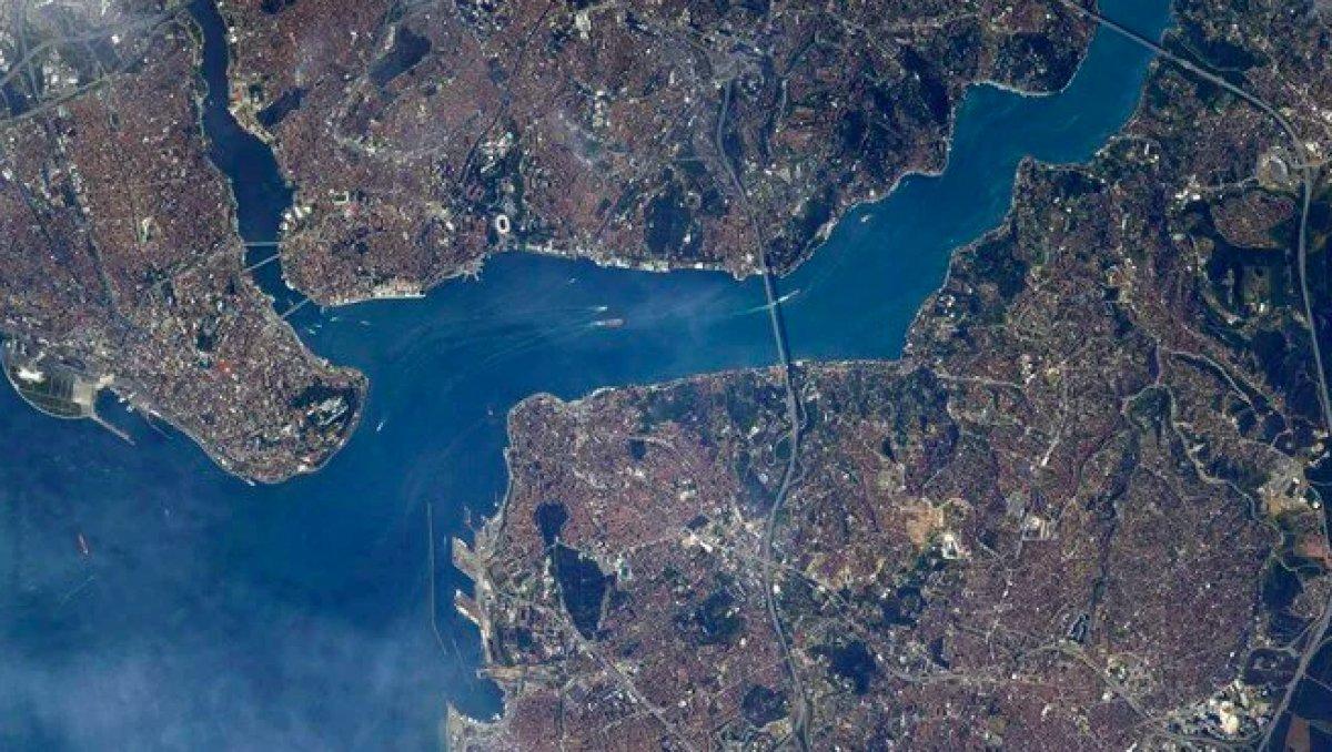 ABD li astronotun Türkiye paylaşımı #1