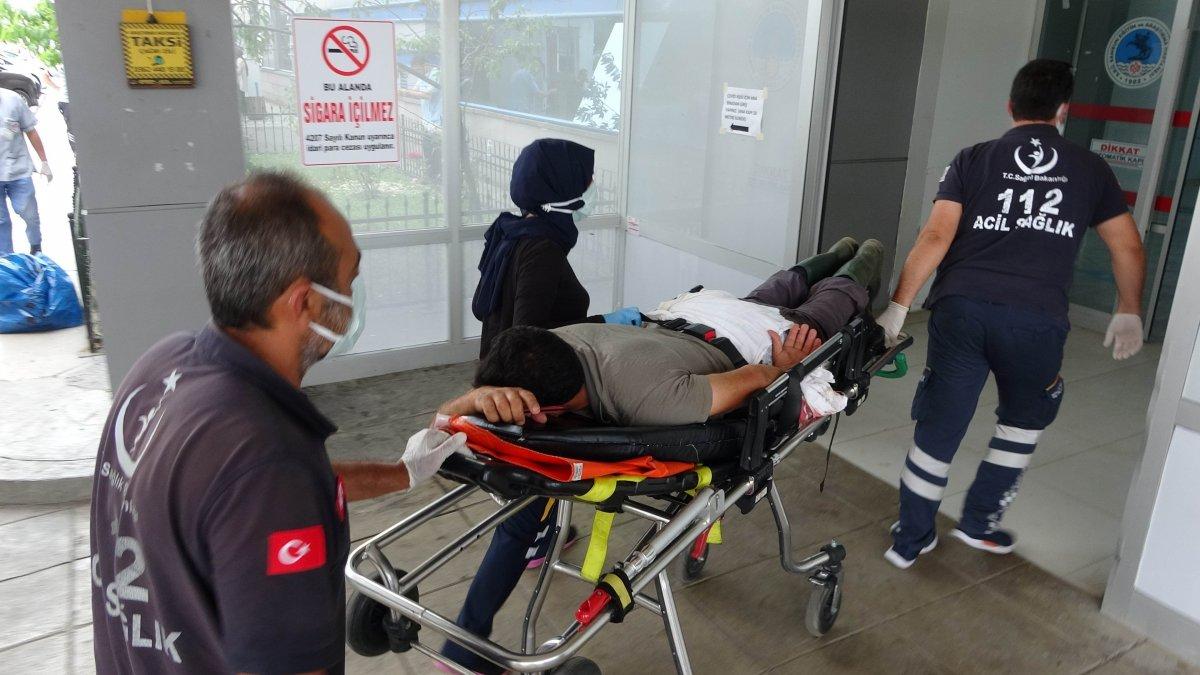 Acemi kasaplar, soluğu hastanede aldı #5