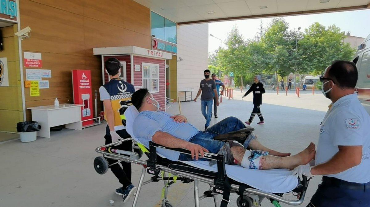 Acemi kasaplar, soluğu hastanede aldı #14