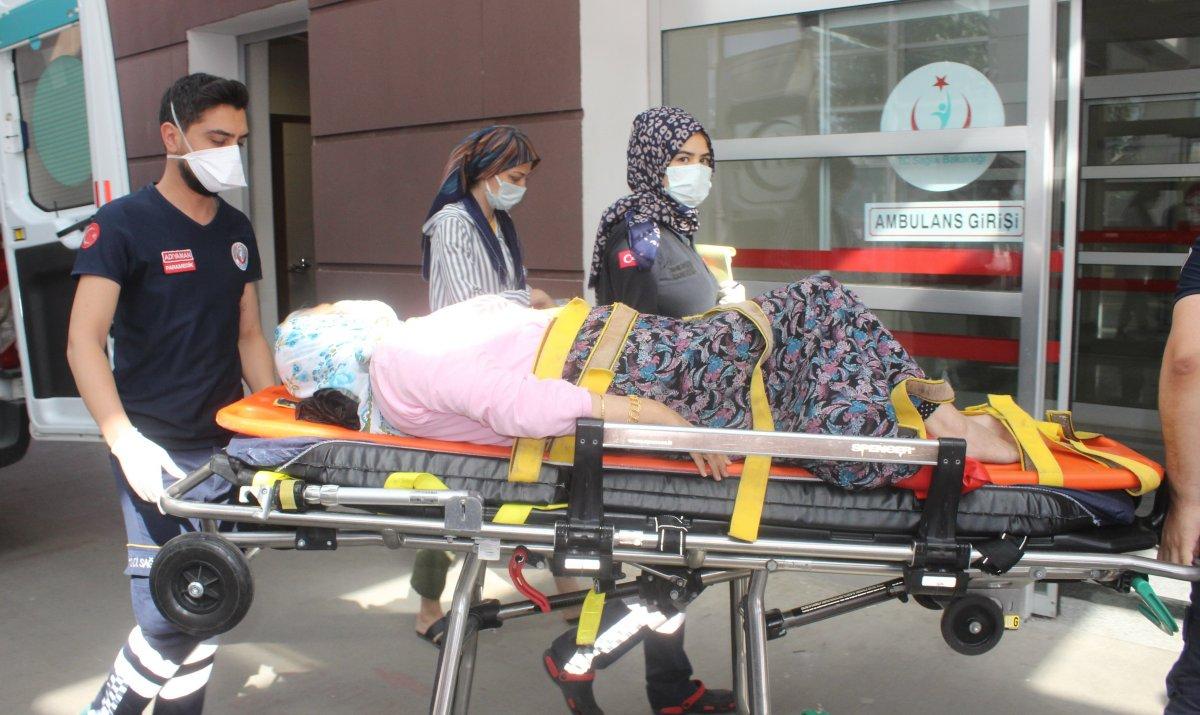 Acemi kasaplar, soluğu hastanede aldı #9