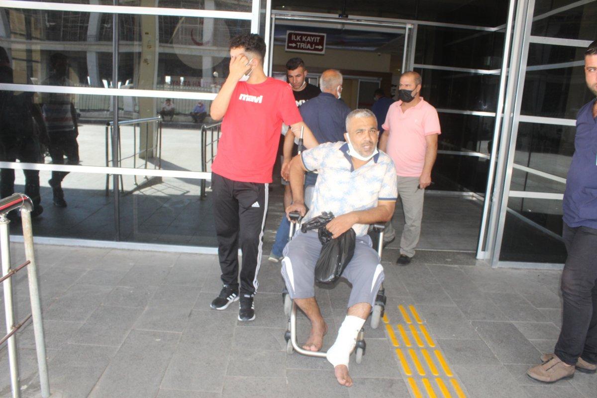 Acemi kasaplar, soluğu hastanede aldı #7
