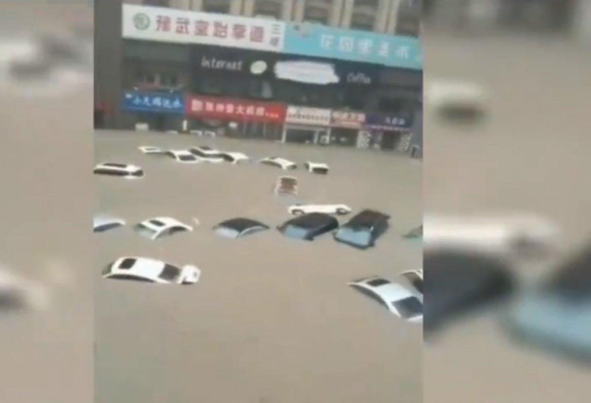Çin de sel felaketi #1