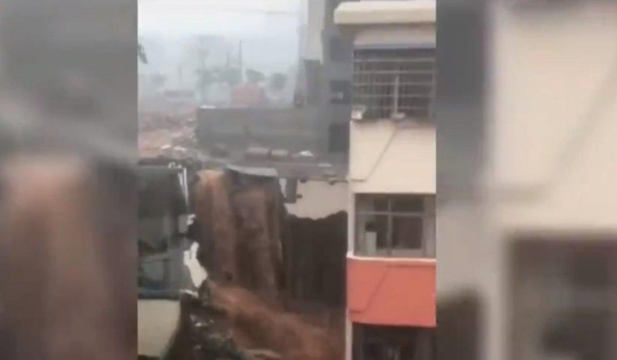 Çin de sel felaketi #2