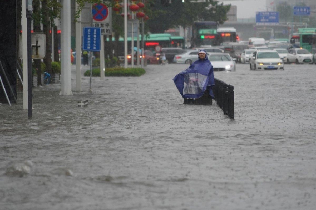 Çin de sel felaketi #4
