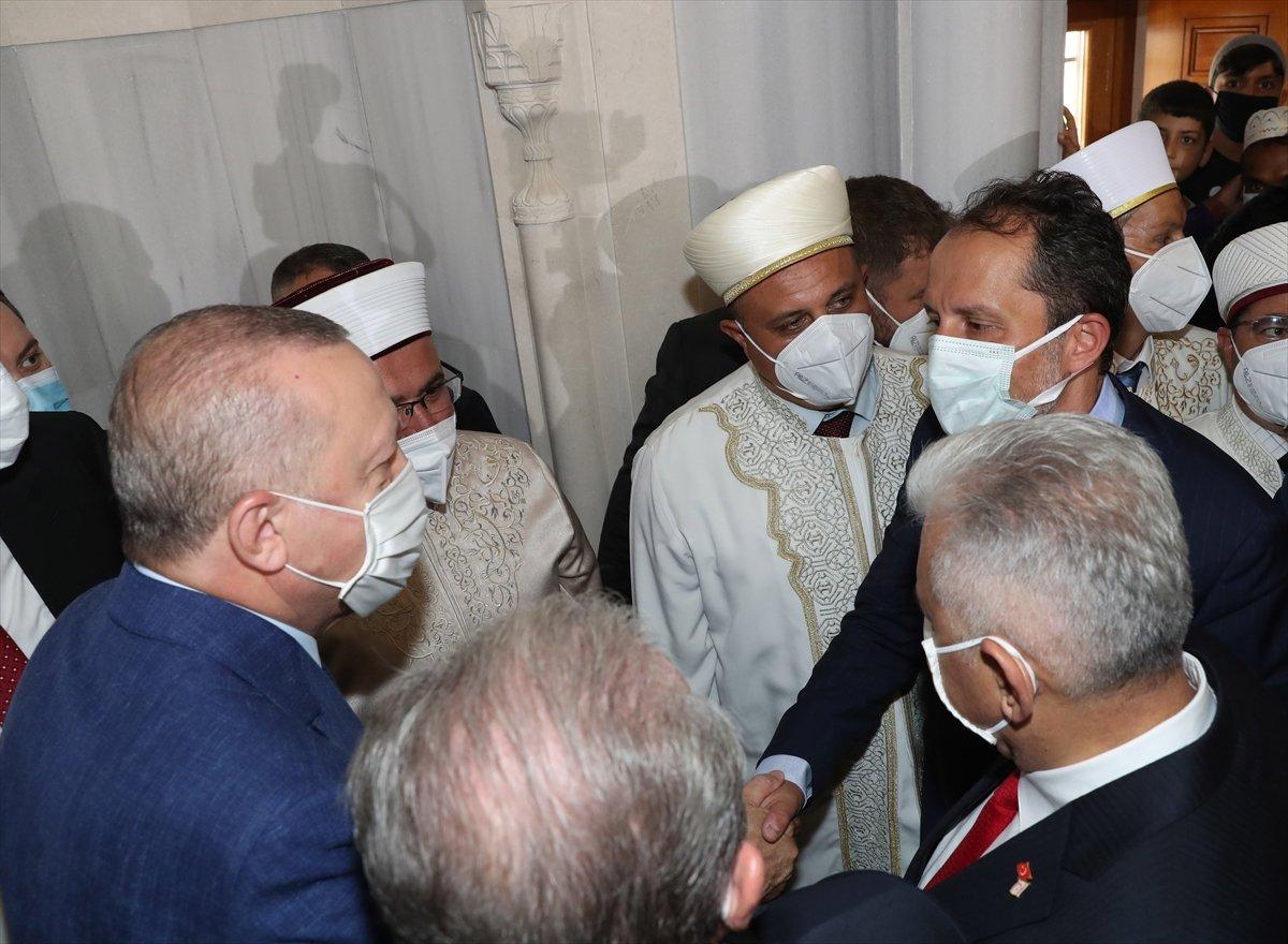 Cumhurbaşkanı Erdoğan, Kurban Bayramı namazını KKTC de kıldı #10