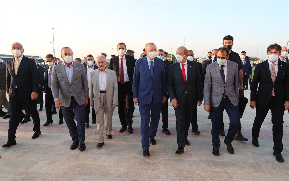 Cumhurbaşkanı Erdoğan, Kurban Bayramı namazını KKTC de kıldı #1