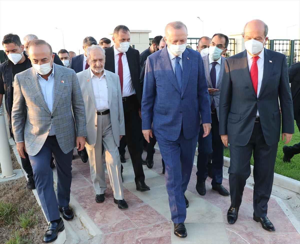 Cumhurbaşkanı Erdoğan, Kurban Bayramı namazını KKTC de kıldı #2