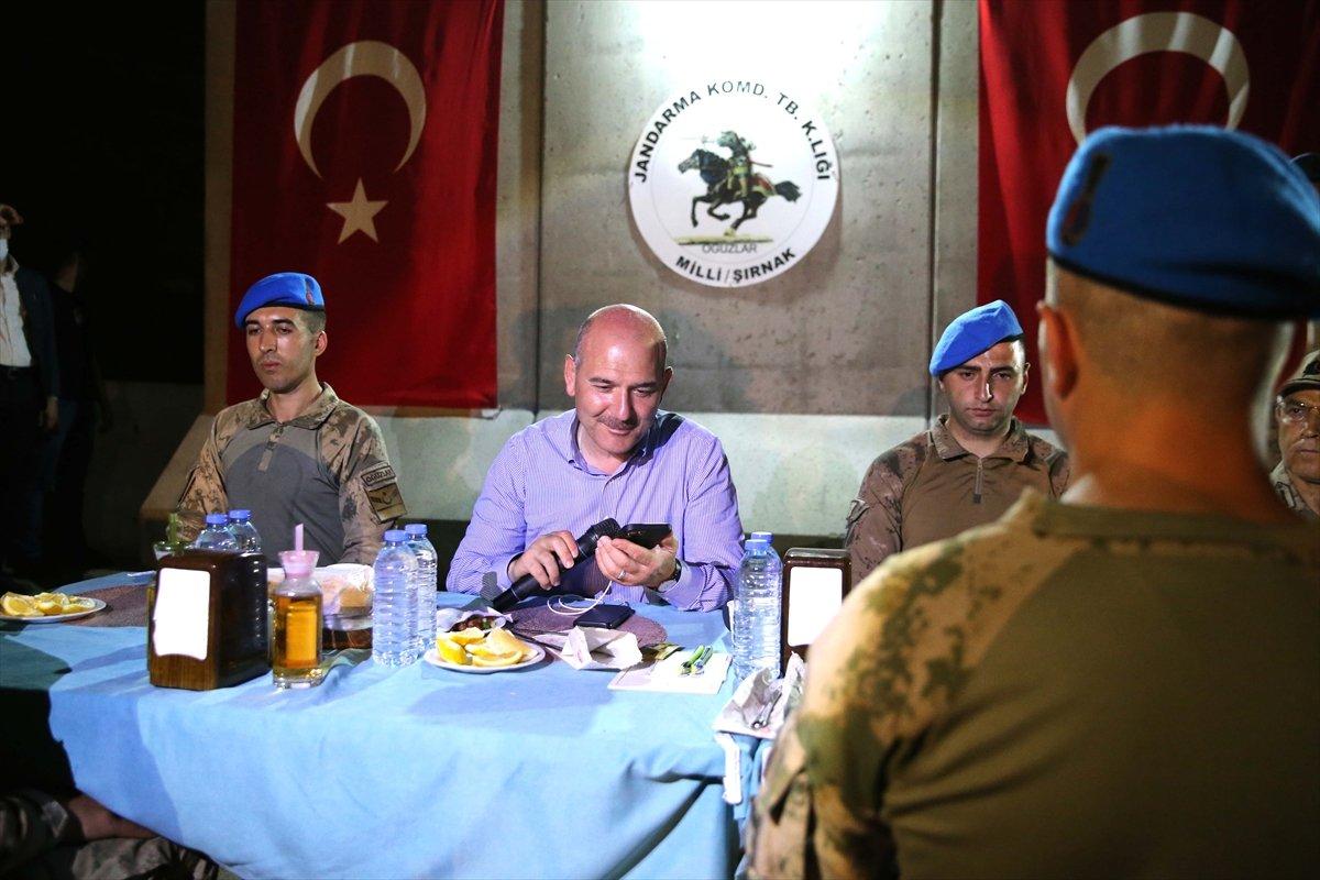 Cumhurbaşkanı Erdoğan Cudi Dağı ndaki askerlerin bayramını kutladı #2