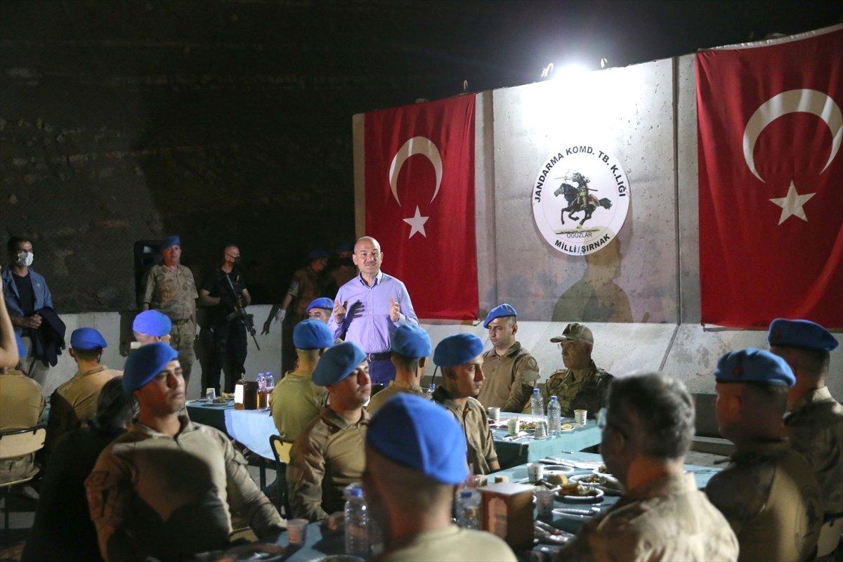 Cumhurbaşkanı Erdoğan Cudi Dağı ndaki askerlerin bayramını kutladı #4