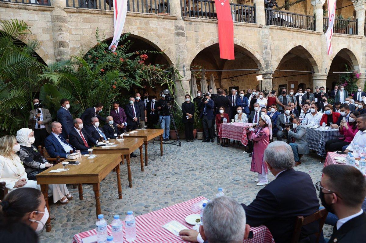 Cumhurbaşkanı Erdoğan KKTC de gençlerle buluştu #2