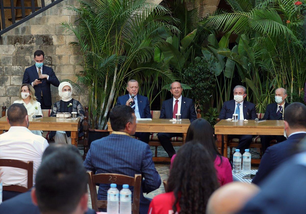 Cumhurbaşkanı Erdoğan KKTC de gençlerle buluştu #1