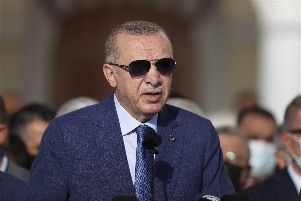 Cumhurbaşkanı Erdoğan dan Kabil Havaalanı değerlendirmesi #3