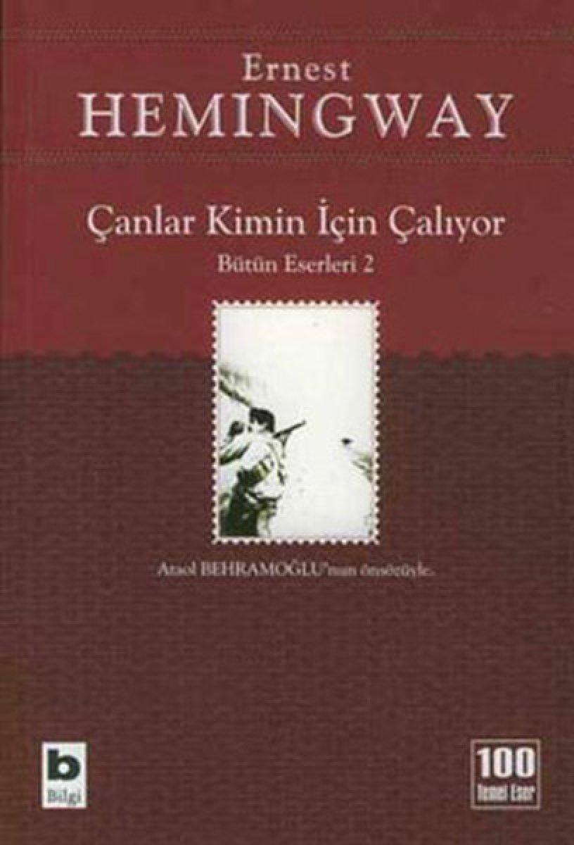 Ernest Hemingway ın savaş romanı: Çanlar Kimin İçin Çalıyor #2