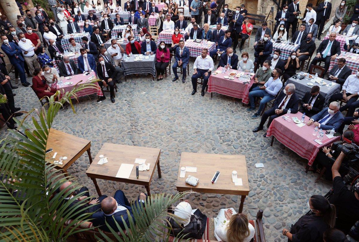 Cumhurbaşkanı Erdoğan KKTC de gençlerle buluştu #5
