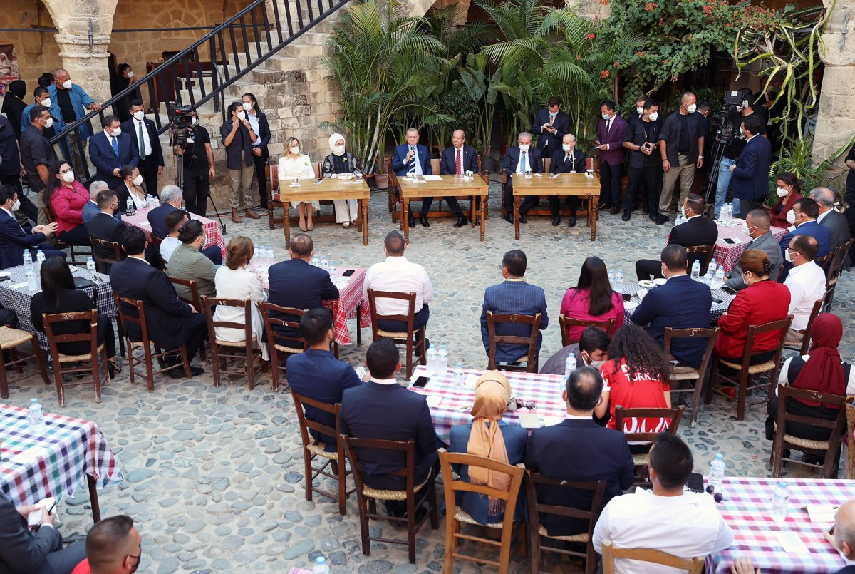 Cumhurbaşkanı Erdoğan KKTC de gençlerle buluştu #4