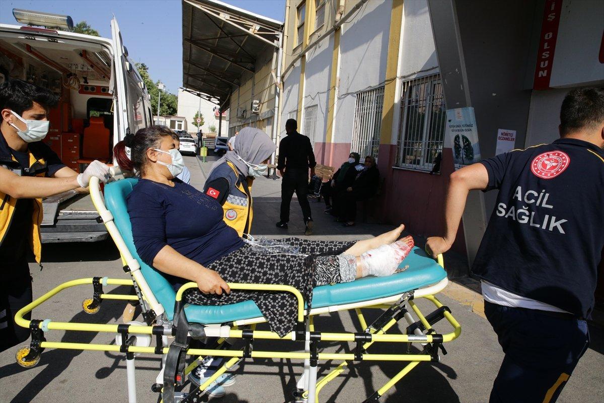 Acemi kasaplar, soluğu hastanede aldı #10