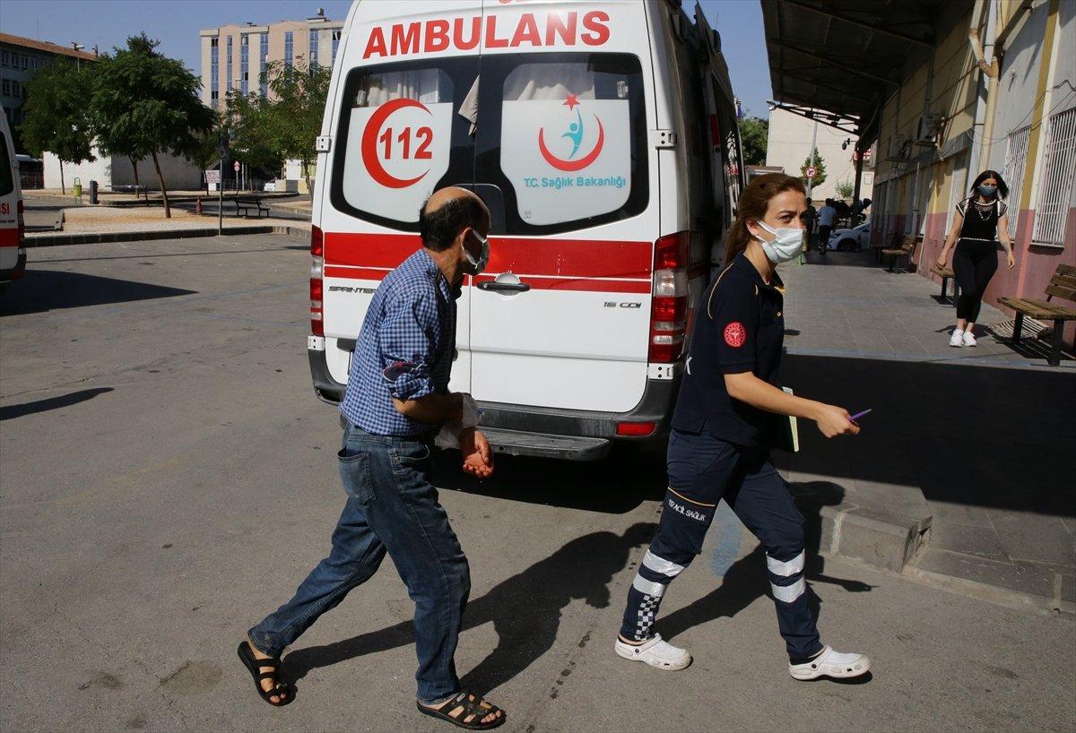 Acemi kasaplar, soluğu hastanede aldı #4