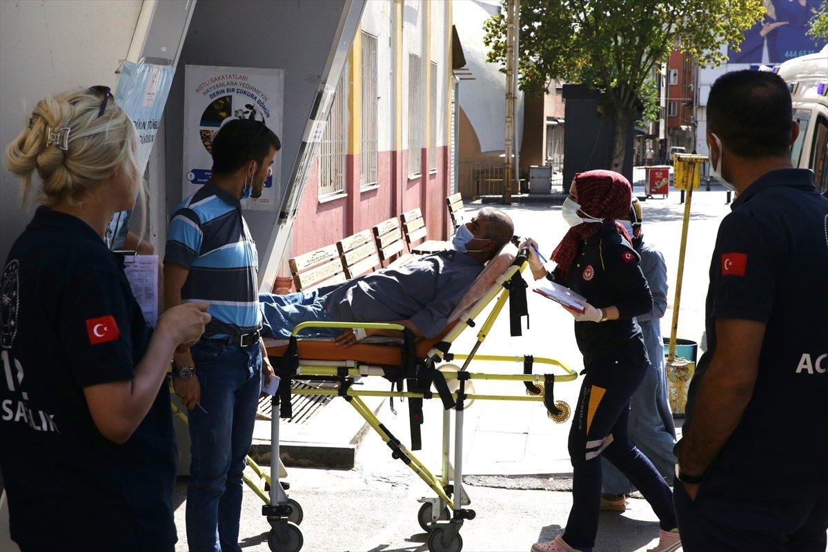 Acemi kasaplar, soluğu hastanede aldı #2