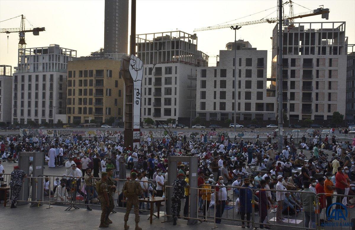 Kurban Bayramı kutlanıyor: Dünyadan bayram namazı manzaraları #28