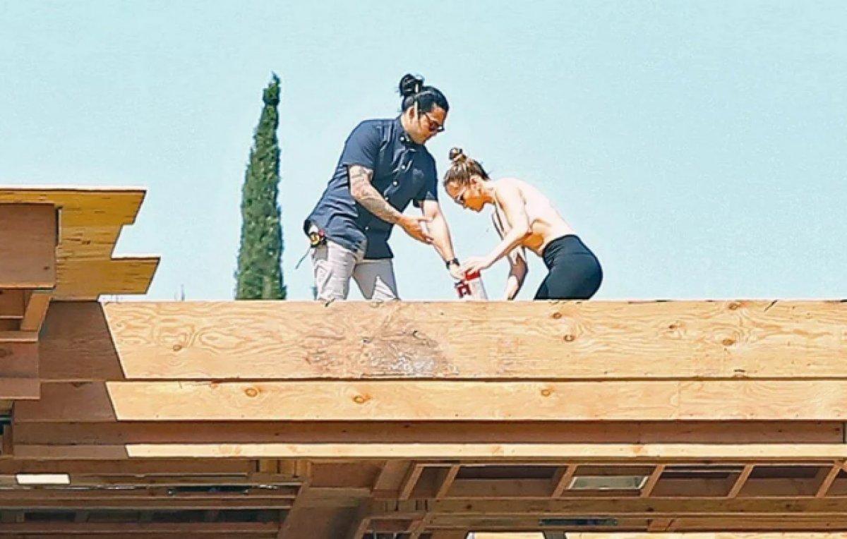 Jennifer Lopez, Ben Affleck ile birlikte yaşayacağı evin inşaatını denetledi  #3