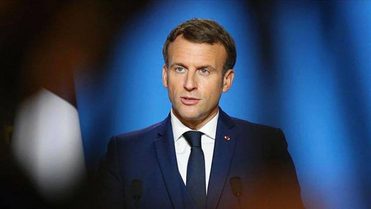 Türkiye den, Emmanuel Macron a kınama #1