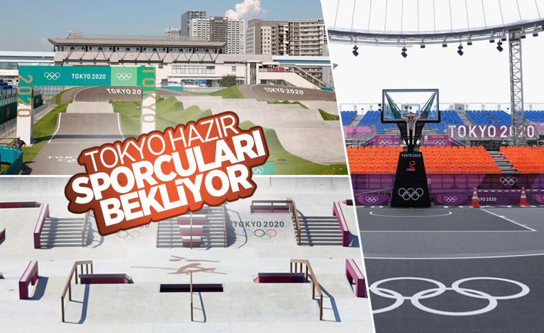 Tokyo'da Olimpiyat hazırlıkları tamamlandı