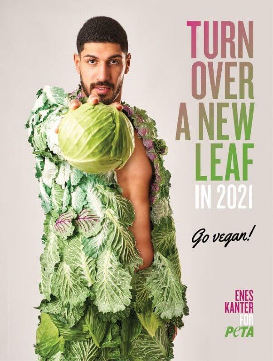 Vegan dergisine röportaj veren FETÖ cü Enes Kanter, kavurma pişirdi #2