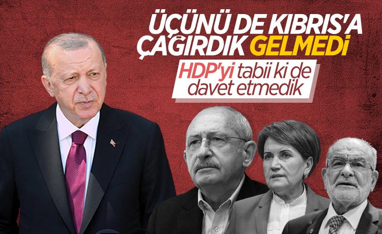 Cumhurbaşkanı Erdoğan, KKTC ziyareti sonunda basın açıklaması yaptı