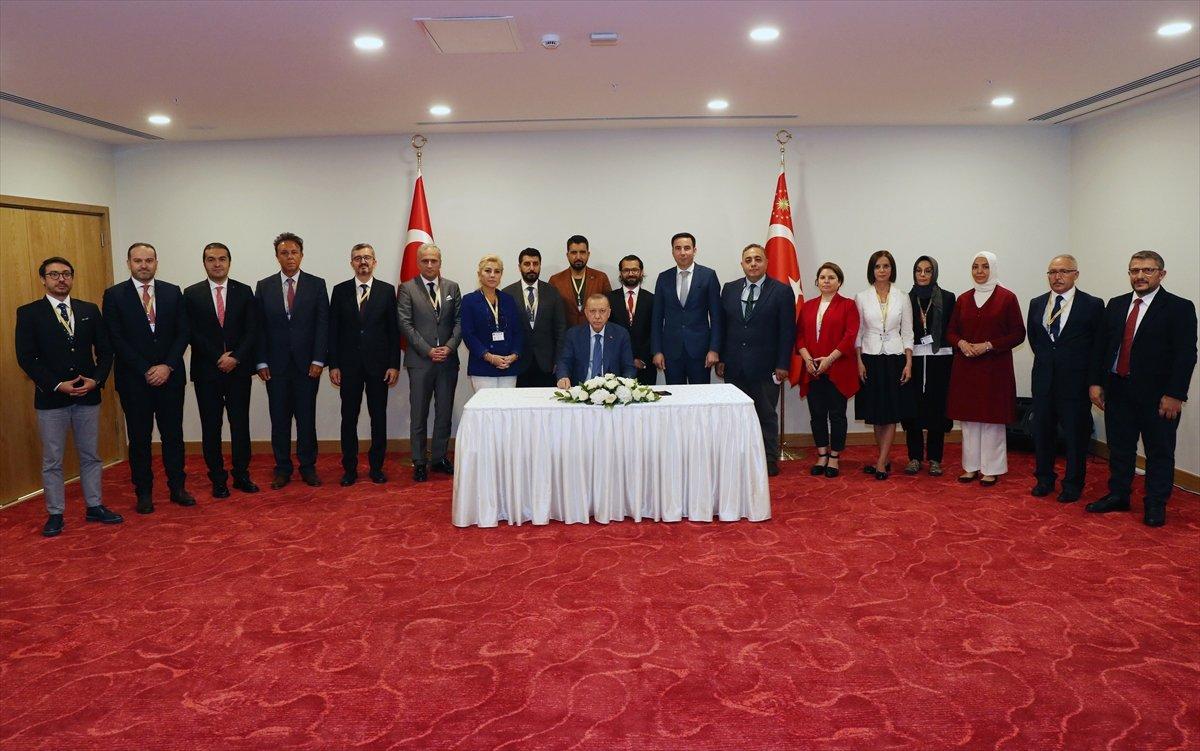 Cumhurbaşkanı Erdoğan, KKTC ziyareti sonunda basın açıklaması yaptı #1