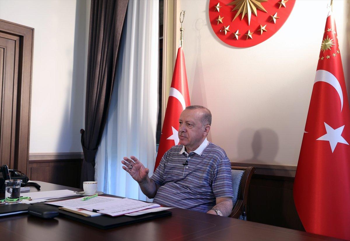 Cumhurbaşkanı Erdoğan, AK Parti teşkilatları ile bayramlaşma programına katıldı #2