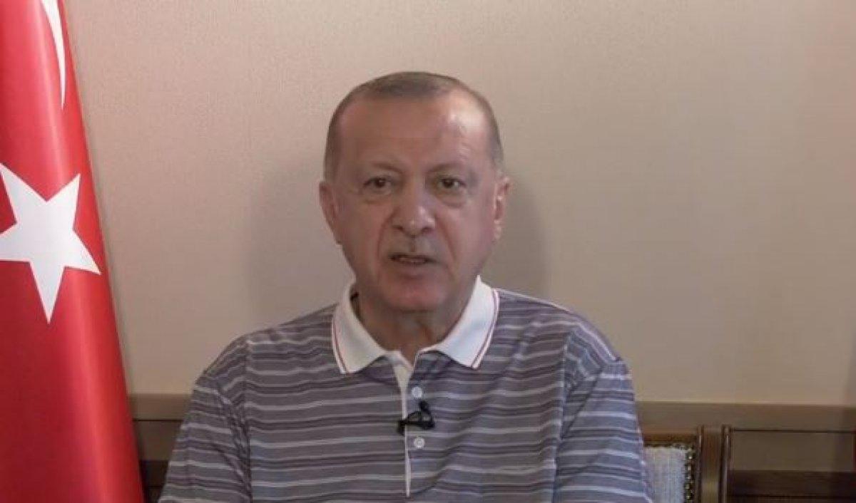 Cumhurbaşkanı Erdoğan, AK Parti teşkilatları ile bayramlaşma programına katıldı #1