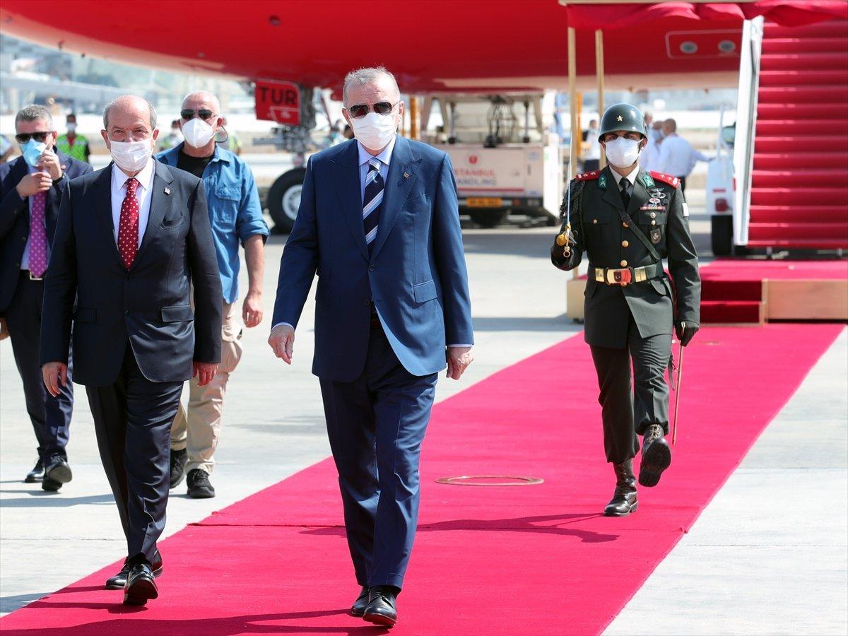 Cumhurbaşkanı Erdoğan, KKTC ziyareti sonunda basın açıklaması yaptı #3