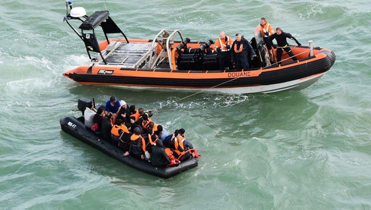 İngiltere ye bir günde rekor göçmen girişi #1