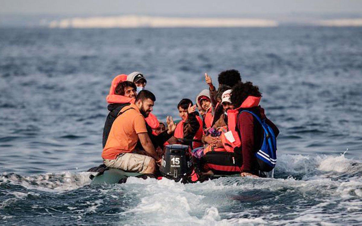 İngiltere ye bir günde rekor göçmen girişi #4