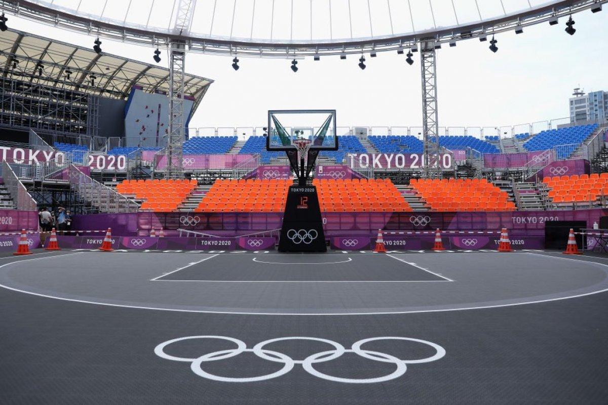 Tokyo da Olimpiyat hazırlıkları tamamlandı #1