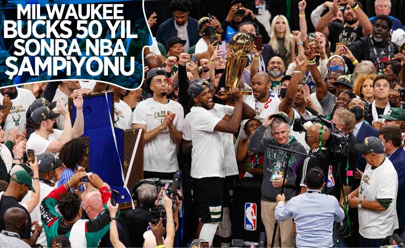 Milwaukee Bucks, NBA şampiyonu oldu