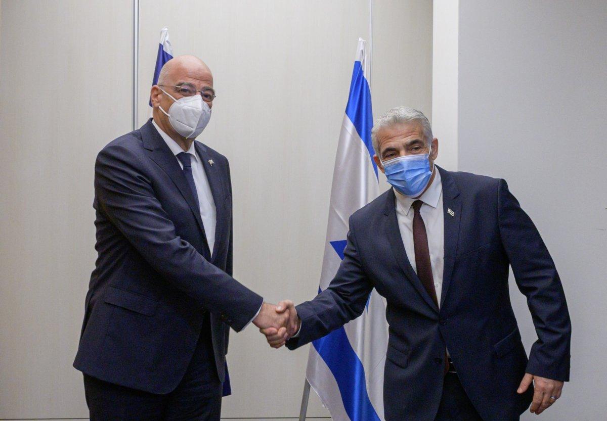 İsrail ile Yunanistan arasında Kıbrıs görüşmesi #1