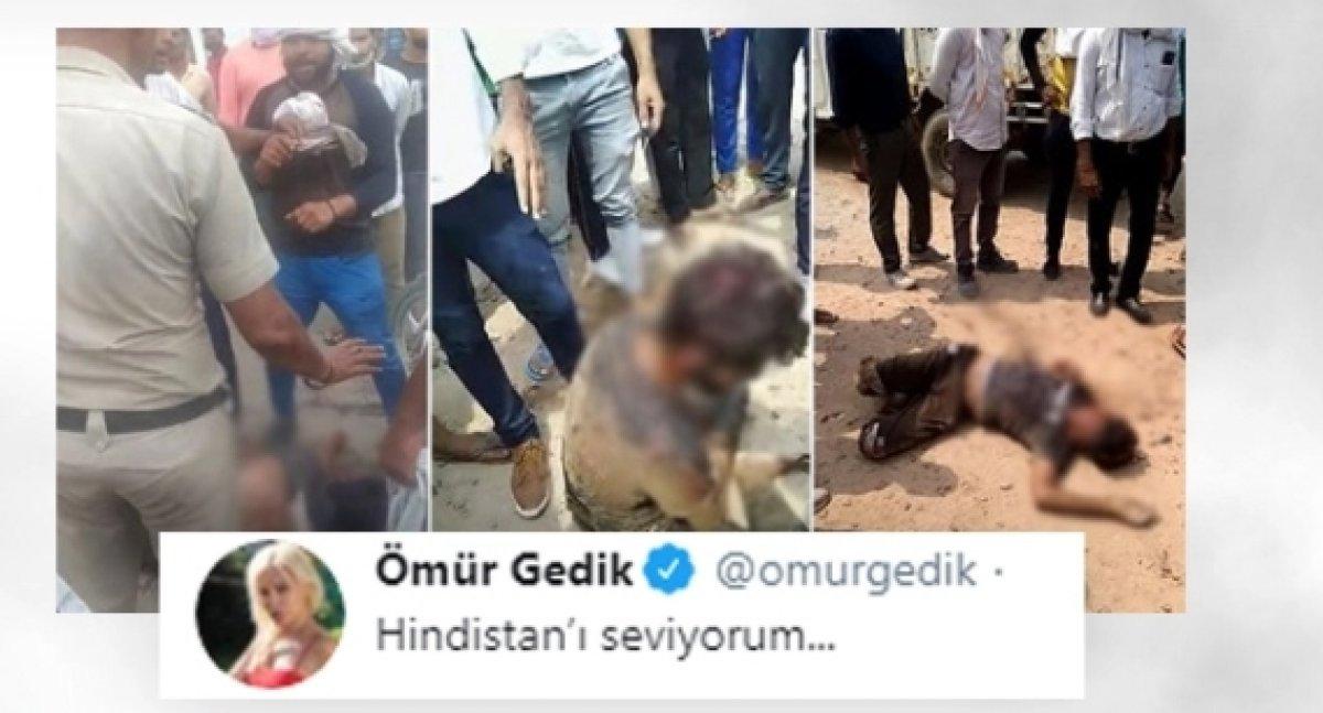 Ömür Gedik Kurban Bayramı nı kınadı #2