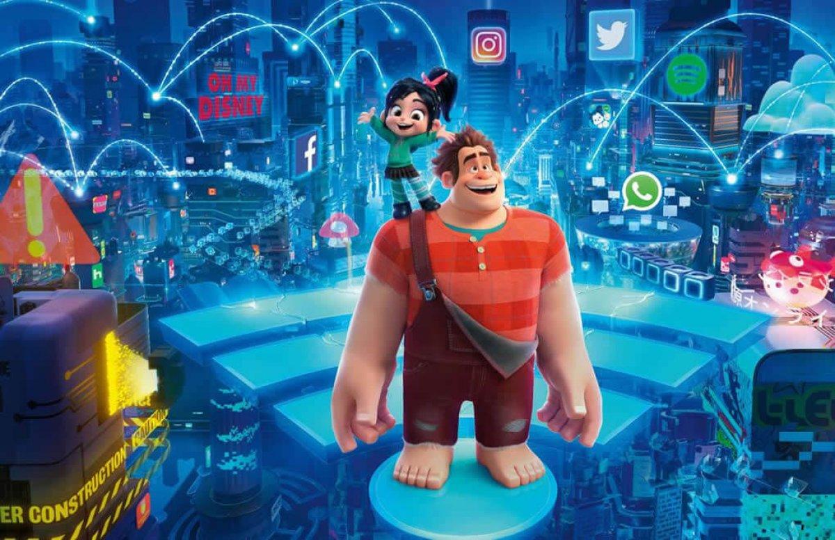 Ralph ve İnternet filmi TV de ilk kez! Ralph ve İnternet filmi konusu nedir, kim seslendiriyor? #1