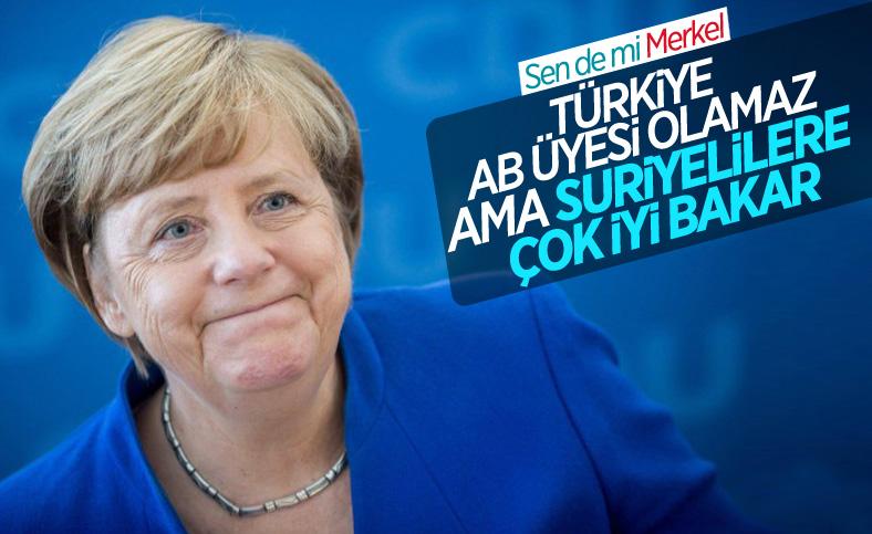Angela Merkel: Türkiye'nin AB üyesi olacağını düşünmüyorum
