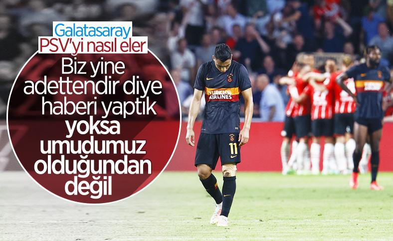Galatasaray, PSV'yi nasıl eler